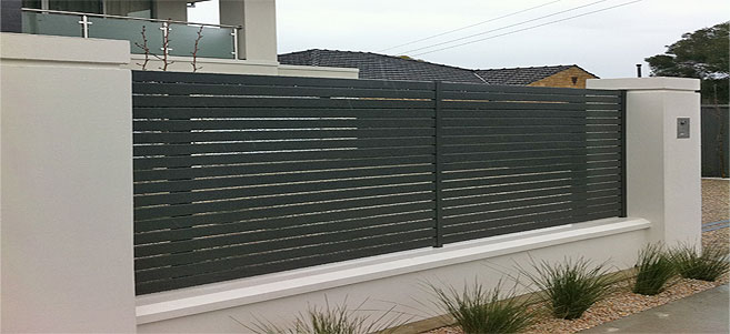 Slat Fencing | Multifencing Newcastle