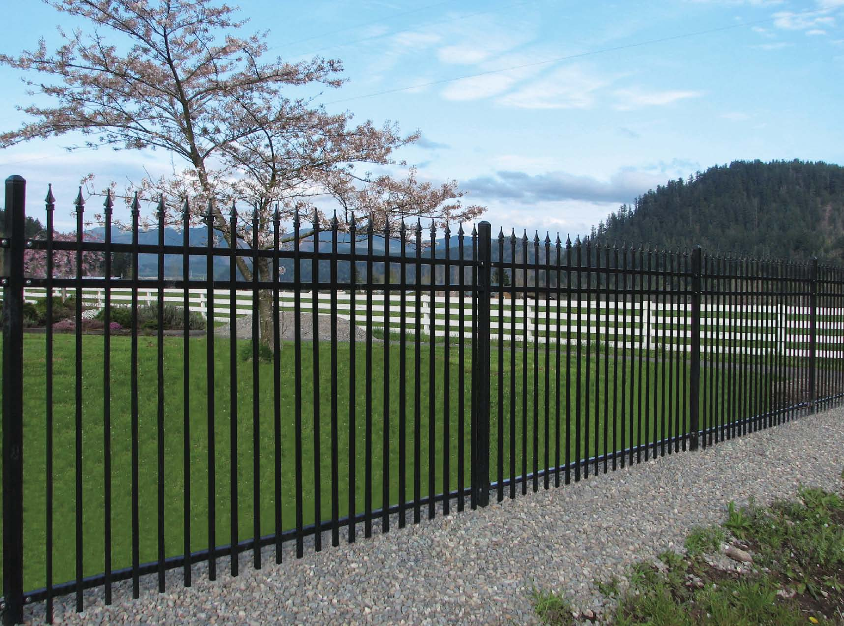 Steel fencing multifencing newcastle